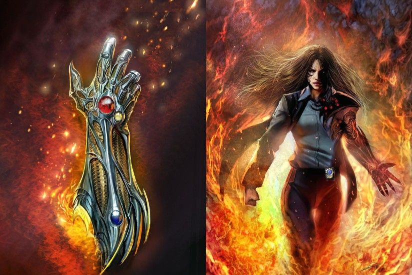 Picture Witchblade Fantasy Hands 2400x1800