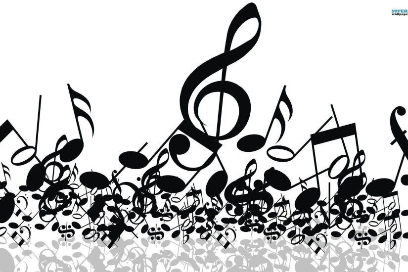 Music notes wallpaper - Music wallpapers - #
