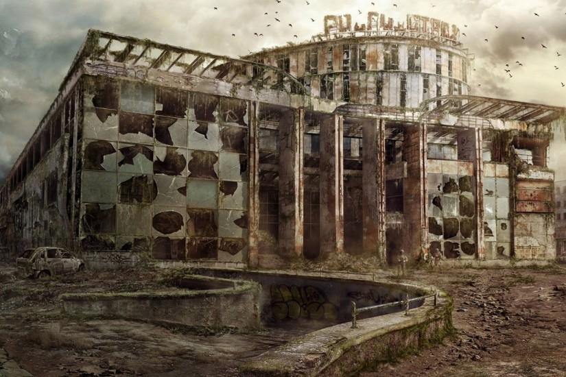 A post apocalyptic building