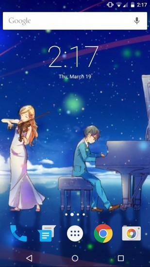 your lie in april wallpaper 1440x2560 4k