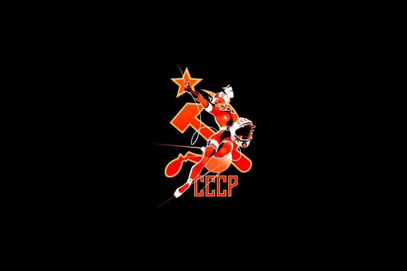 Wallpapers USSR Hammer and sickle