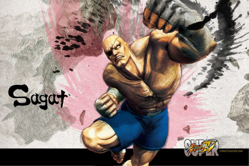 Super Street Fighter 4 Sagat Wallpaper