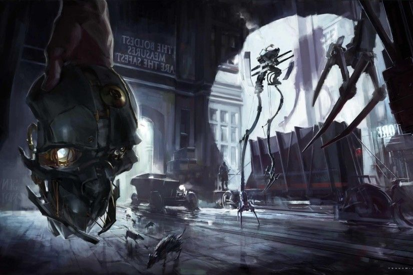 Dishonored, Video Games, Artwork Wallpapers HD / Desktop and Mobile  Backgrounds