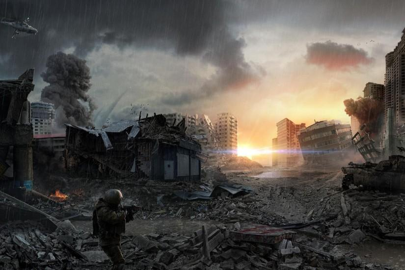 Wallpapers For > Post Apocalyptic Wallpaper 1920x1200