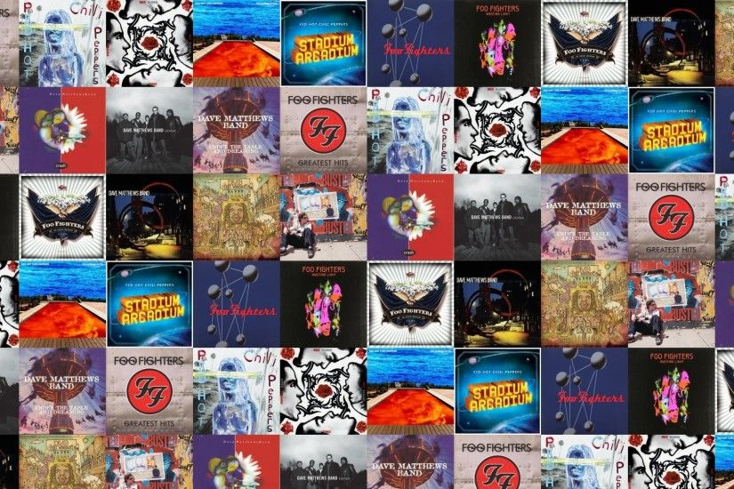 1920x1080 Foo Fighters Greatest Hits Red Hot Chilli Peppers Wallpaper Â«  Tiled Desktop Wallpaper