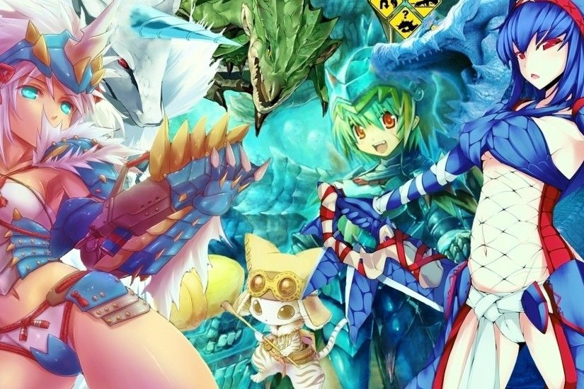 Monster Hunter Desktop by F12osTii Monster Hunter Desktop by F12osTii
