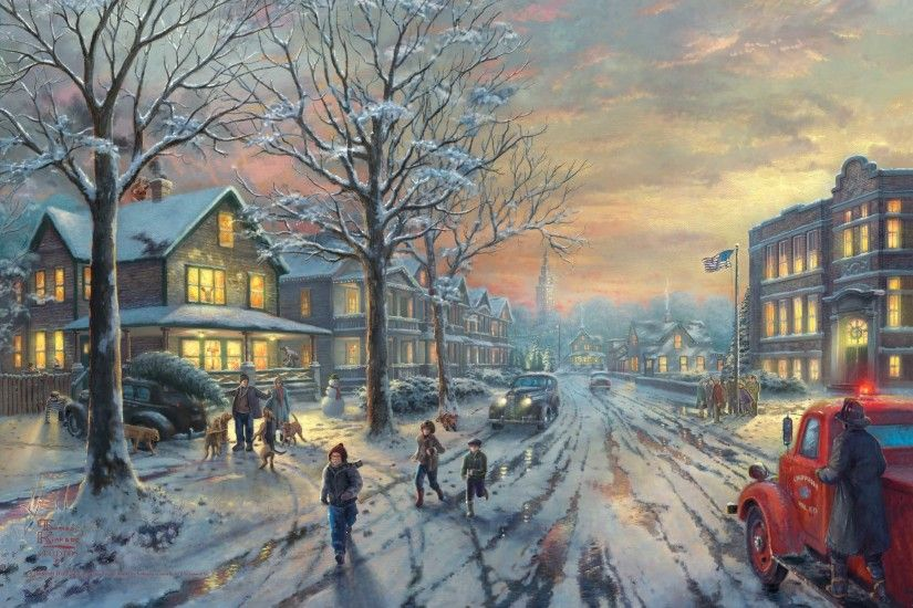 Victorian Christmas In Town | 308 pieces jigsaw puzzle ...