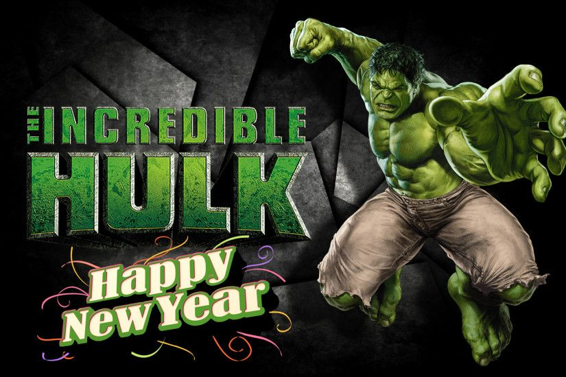 Happy Incredible New Year, fellow Hulkophiles!