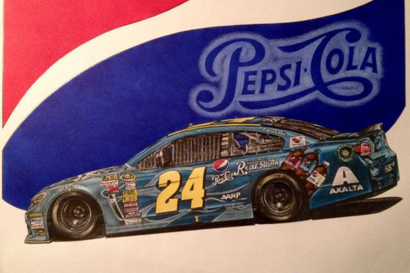 ... Jeff Gordon 2014 Pepsi made with Real Sugar Car by JonOwens