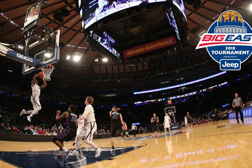 2018 BIG EAST Men's Basketball Tournament Tickets Are Now Available