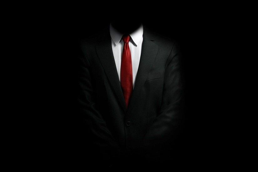 Black Suit White Shirt Red Tie Style HD Wallpaper - ZoomWalls