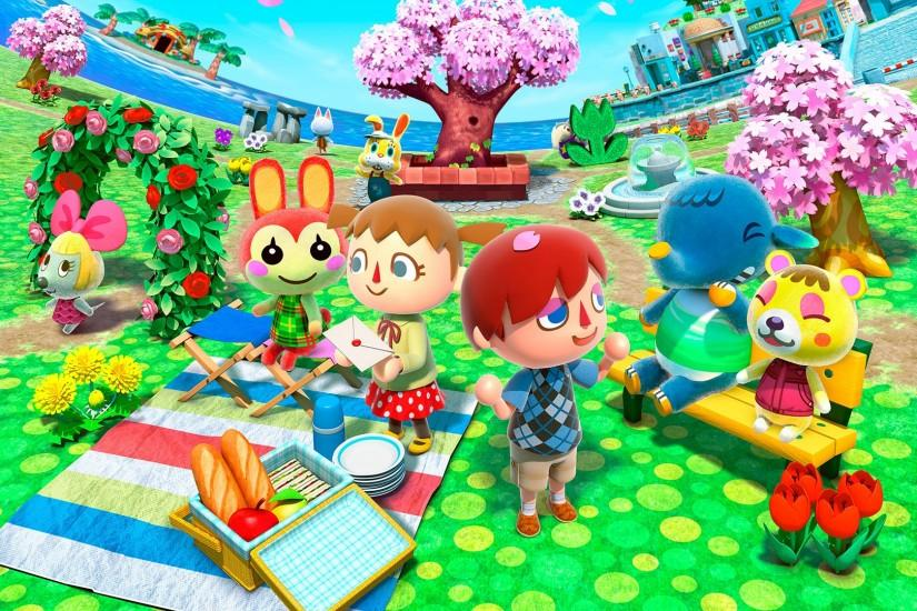 animal crossing wallpaper 1920x1080 large resolution
