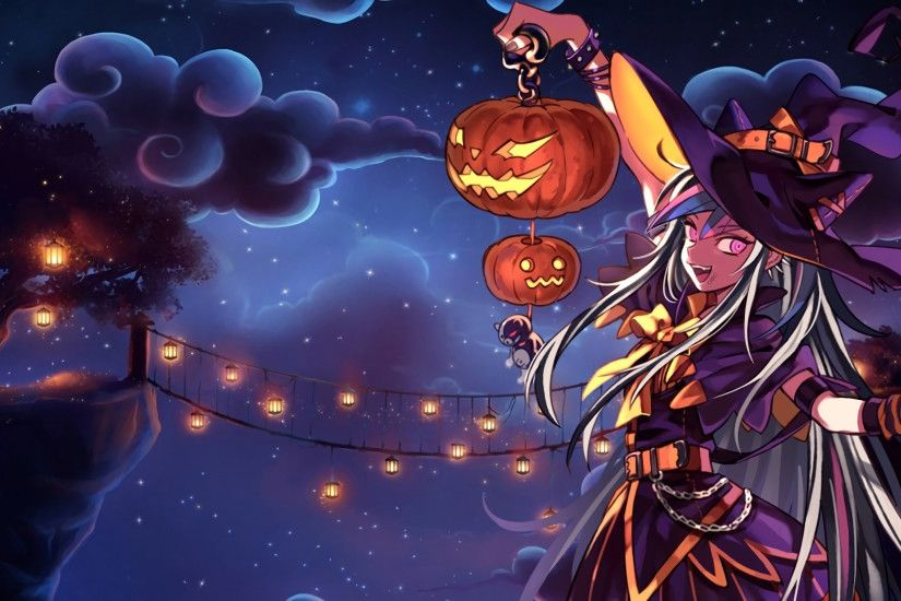 Ibuki Mioda Halloween Wallpaper by Pratishka Ibuki Mioda Halloween Wallpaper  by Pratishka