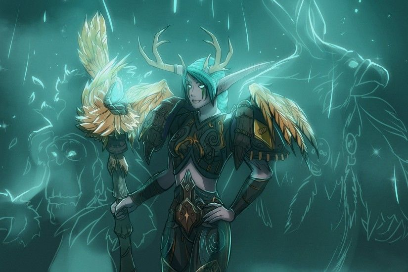 Night Elf Druid / World Of Warcraft