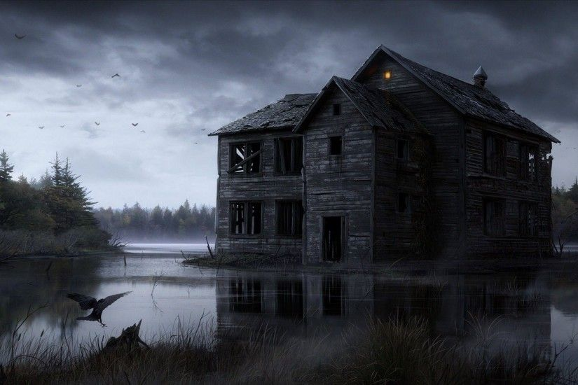 ... graveyard wallpapers festival collections; haunted house wallpapers  wallpaper cave ...
