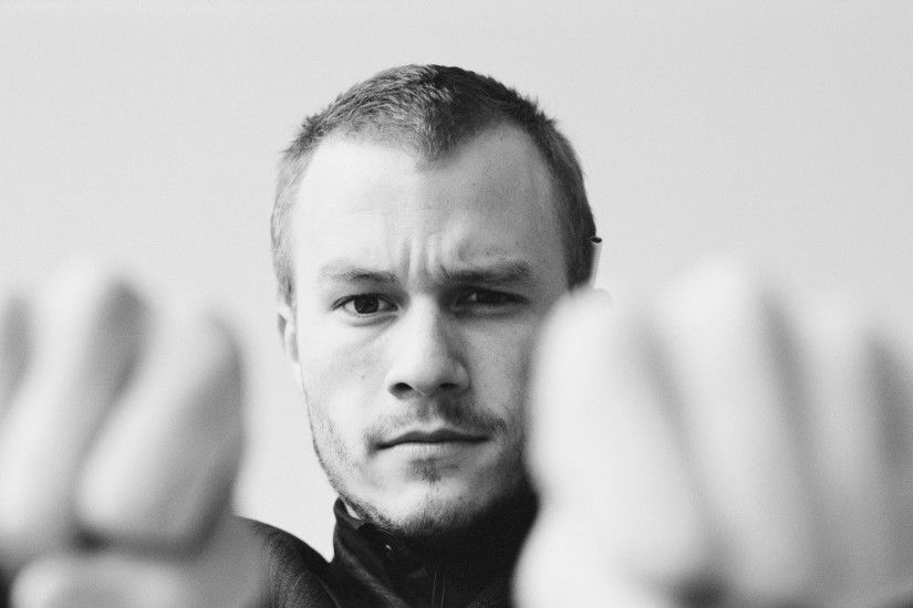 heath ledger Wallpaper HD Wallpaper