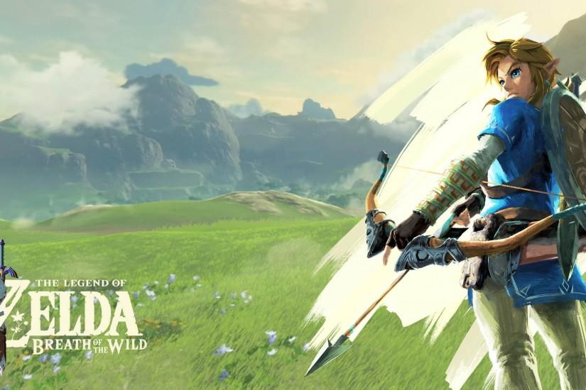 new zelda breath of the wild wallpaper 1920x1080 windows 10