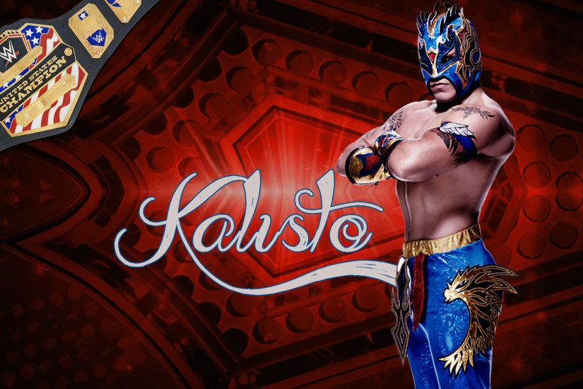 ... WWE Champion Kalisto Wallpaper HD Images