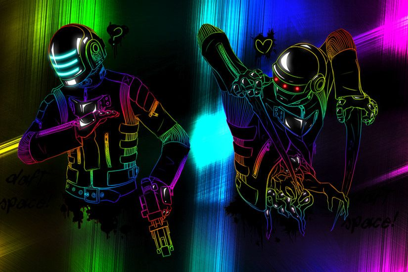 Music - Daft Punk Wallpaper