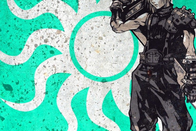 1920x1080 Wallpaper final fantasy, cloud strife, art