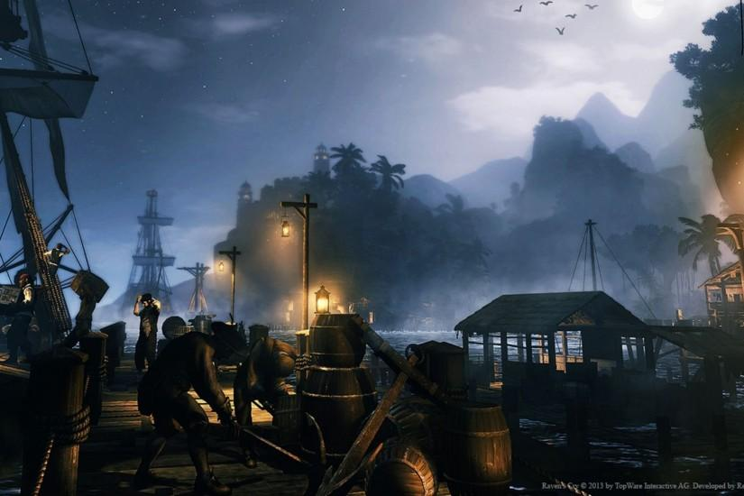 RAVENS CRY fantasy action adventure rpg pirate ship wallpaper | 1920x1080 |  493858 | WallpaperUP