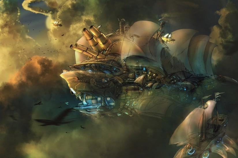 steampunk wallpaper 1920x1080 for android tablet
