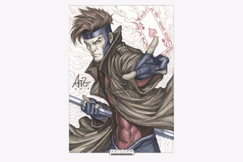 Comics - Gambit Wallpaper