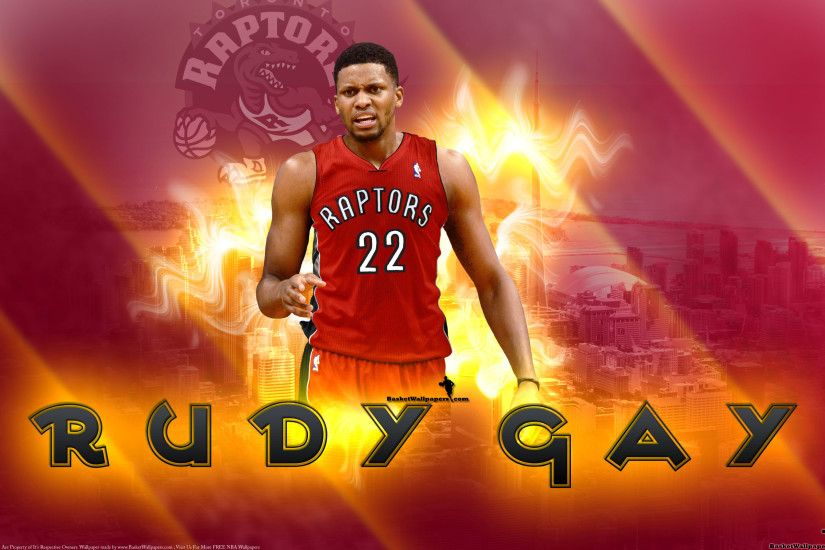 Rudy Gay Toronto Raptors 2013 2560x1600 Wallpaper