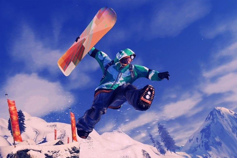 Wallpapers Snowboarding Ssx For X Widescreen Hd Wide 1920x1200 .