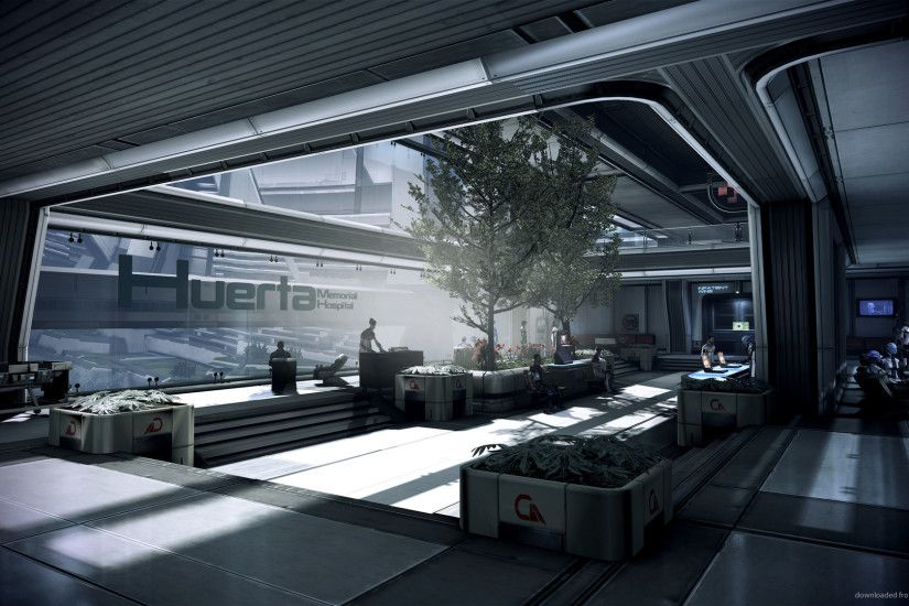 Mass Effect Hospital picture