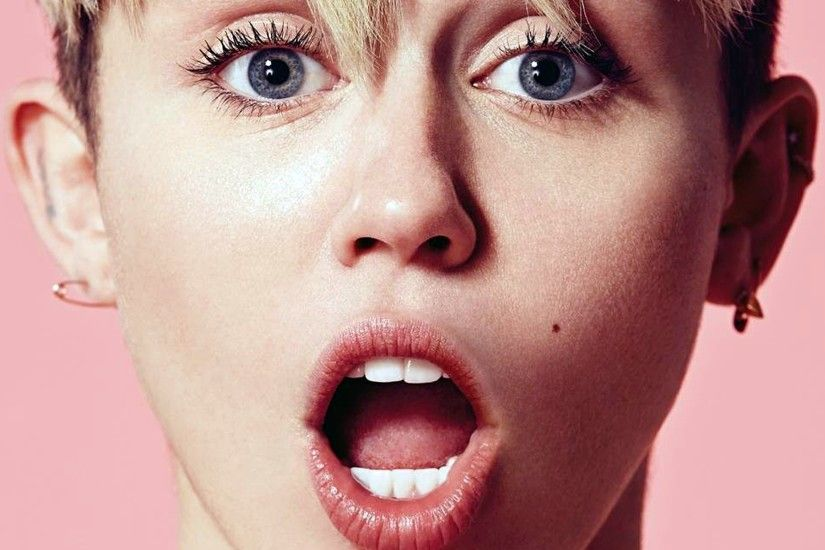 Miley Cyrus face Hollywood Actress and singer Miley Cyrus Hd wallpapers