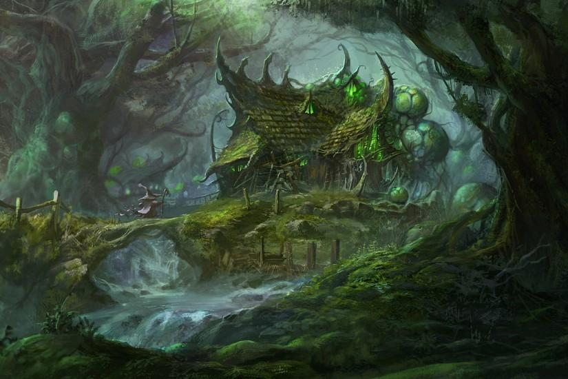 ... Fantasy Forest Wallpapers - Wallpaper Cave ...