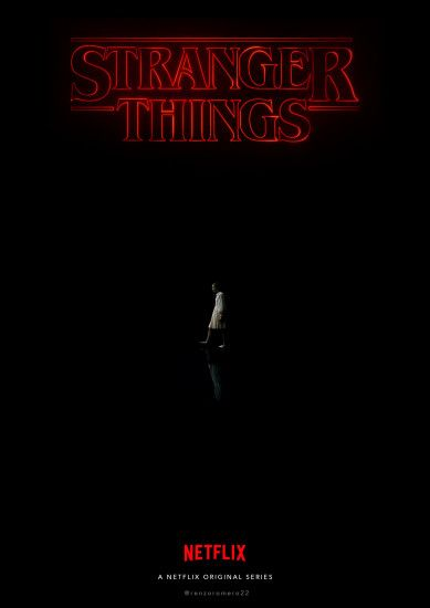 Stranger Things by @renzoromero22