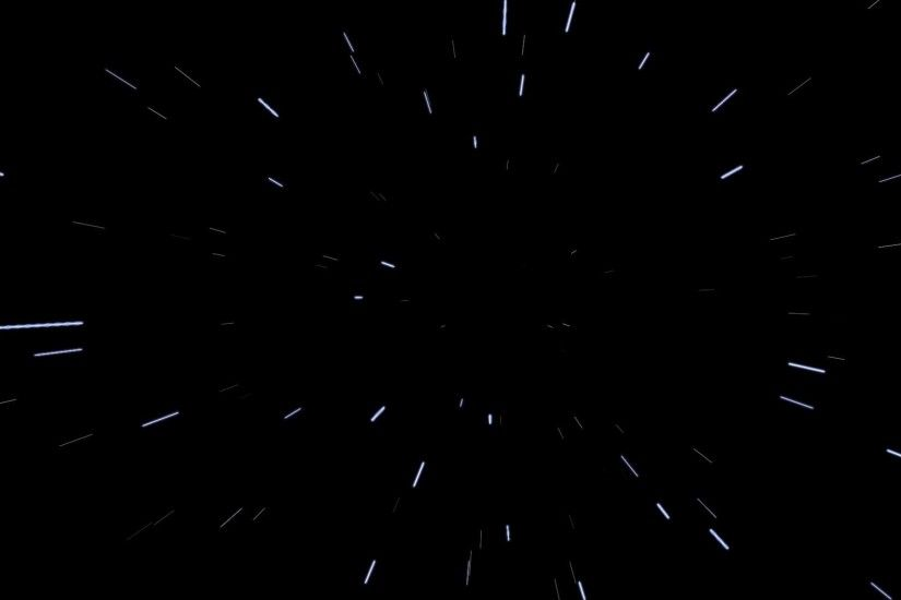 Space Warp Speed Effect Background HD