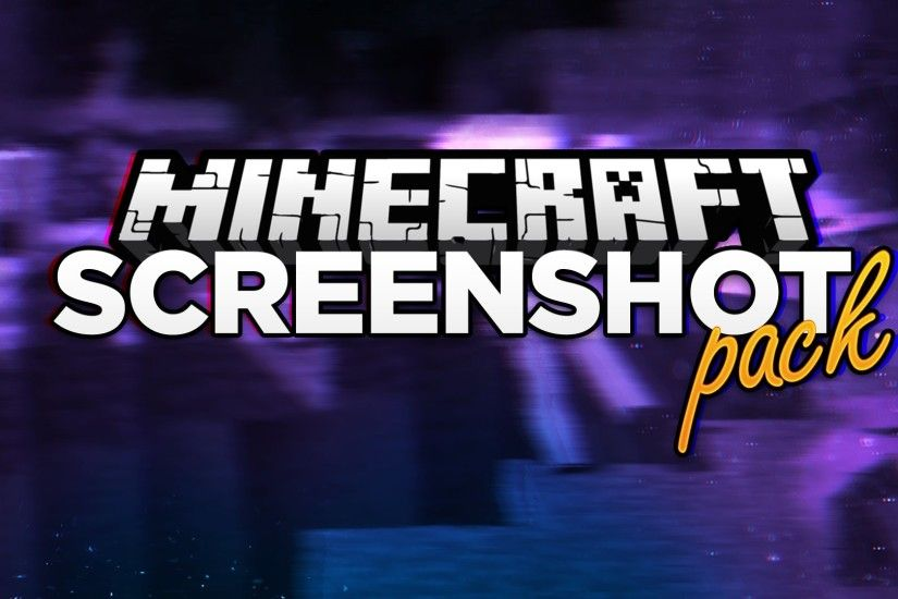EPIC Minecraft Screenshot Pack! [150 Sub Special!] Free Download GFX Pack  PSD - YouTube