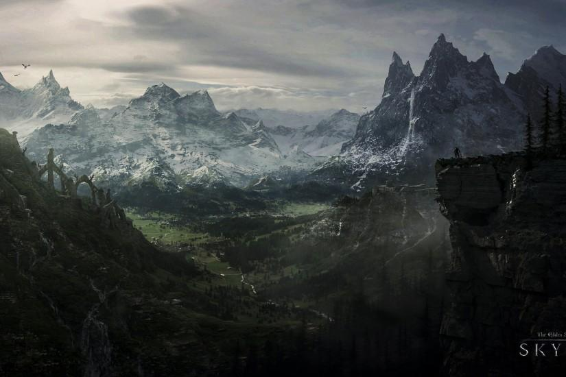 skyrim wallpaper 1920x1080 2560x1440 4k