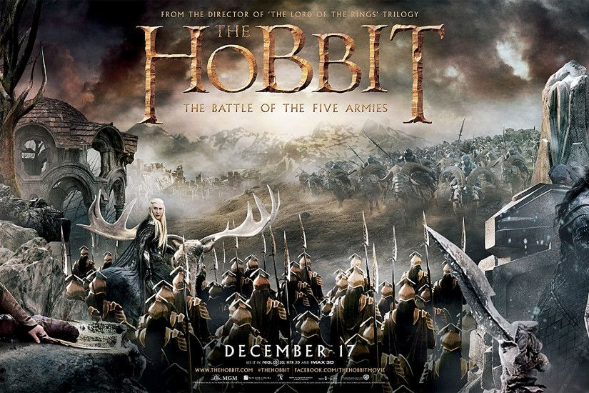 The Hobbit The Battle Of The Five Armies Wallpaper Background As Wallpaper  HD