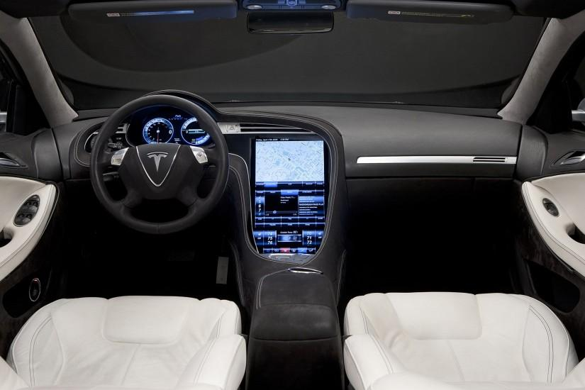 Tesla Car Interior Wallpaper 19169