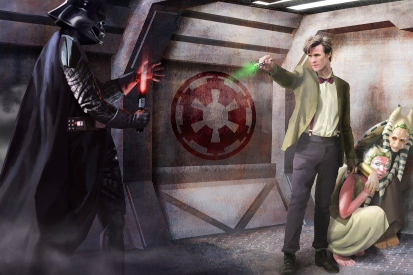Doctor Who Eleventh Doctor Sonic Screwdriver Star Wars Darth Vader .