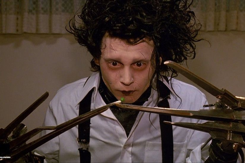 edward scissorhands wallpaper