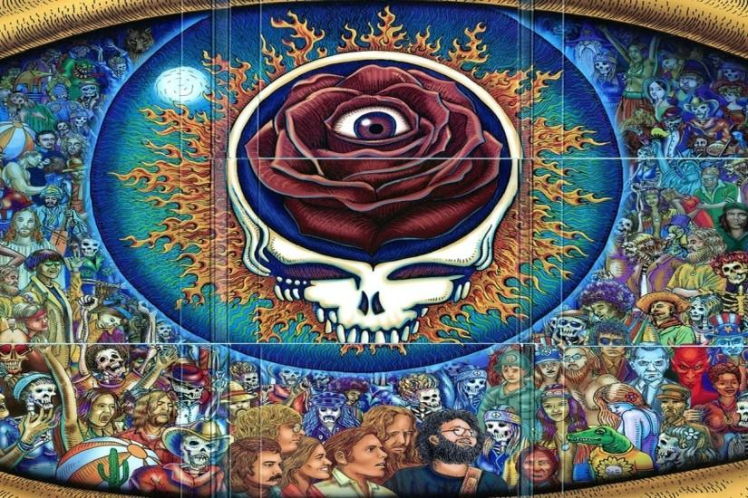 Grateful Dead Classic Rock Hard jg FullHD Wallpaper