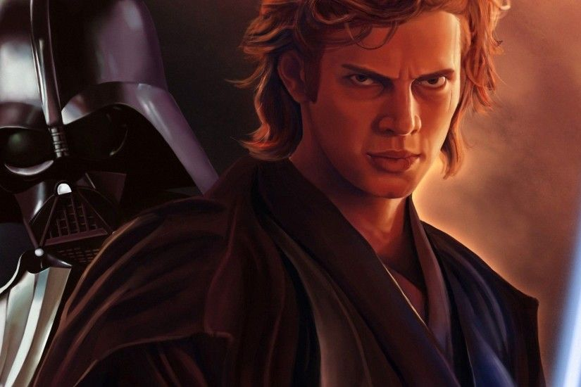 Skywalker And Darth Vader HD Imposing Wallpaper Free .