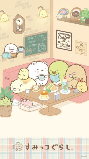 Sumikko Gurashi / Cafe (click thru for high res)