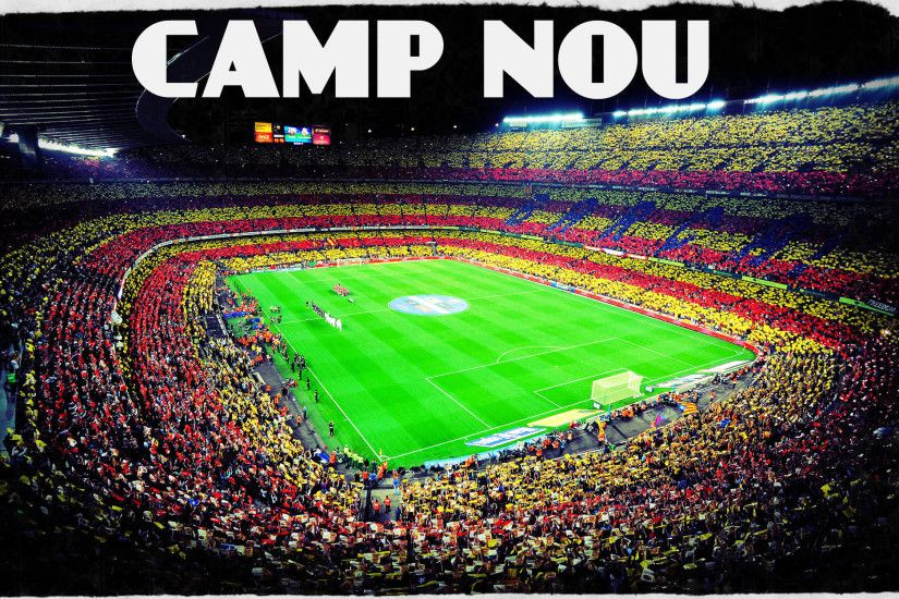 cool image fc barcelona camp nou wallpaper football wiki fandom powered by  wikia with werder bremen wallpaper stadion.