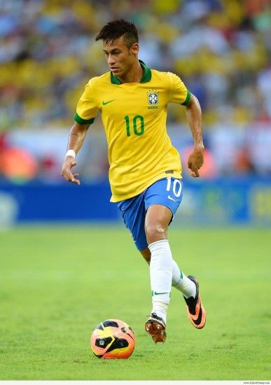 Neymar Brazil Wallpaper Wide