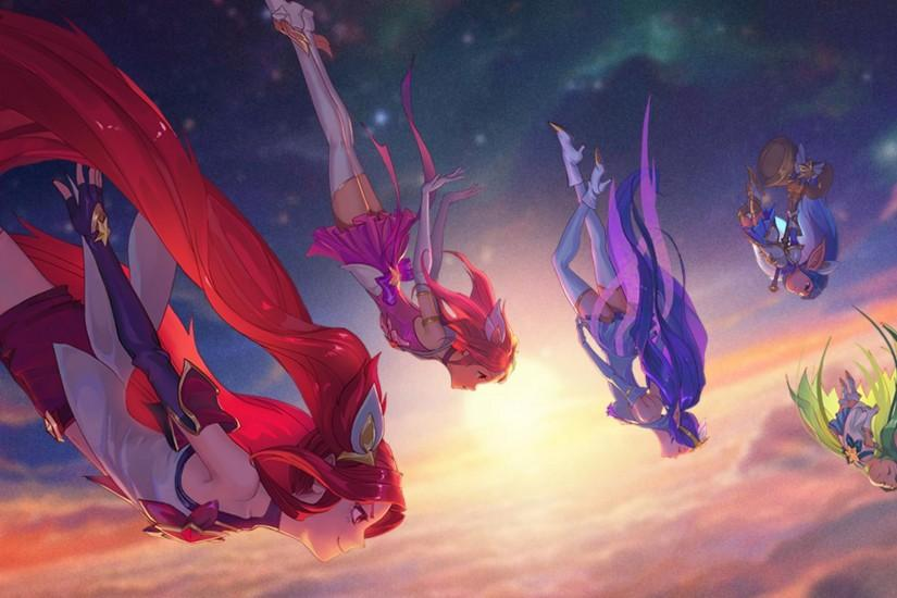 League of Legends: Star Guardian Wallpapers Credit to all original artists  and creators