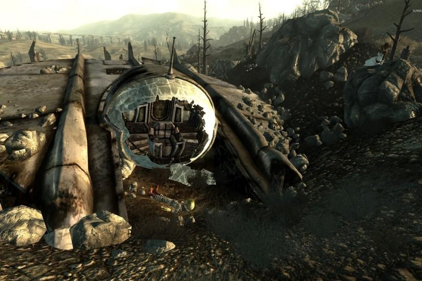 widescreen fallout 3 wallpaper 1920x1200 for iphone 5