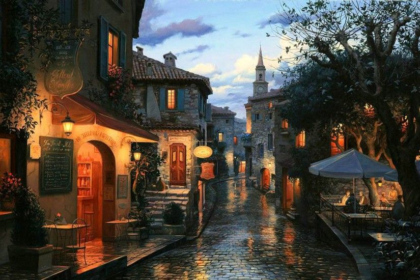 After the Rain by Eugene Lushpin