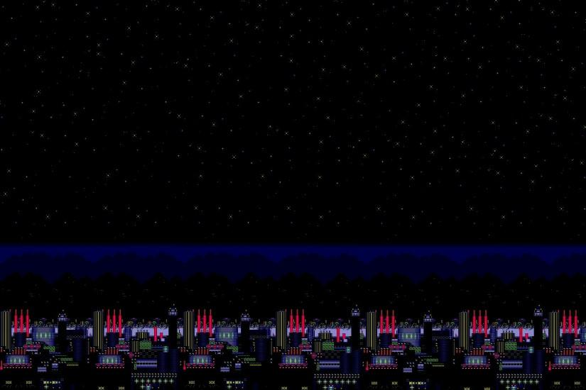 Carnival Night Zone Background