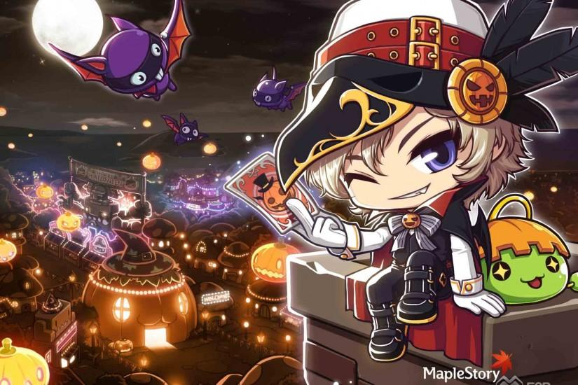 MAPLESTORY mmo online rpg scrolling fantasy 2-d family maple story (7)  wallpaper